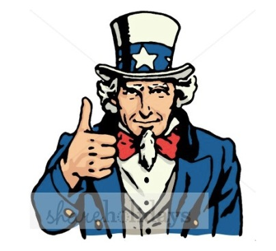 Uncle Sam, courtesy the Printable Holiday